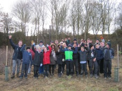 Shadoxhurst Scouts and ACW volunteers