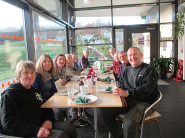 Christmas meal at the Singleton Environment Centre, 2nd December 2017